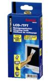 Набор влажных и сухих салфеток для чистки LCD и TFT, 2х10 штук, HAMA 62643