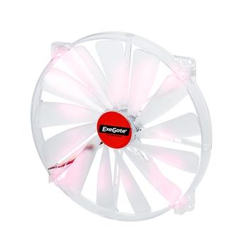 Вентилятор 200 мм с красной подсветкой