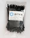 Стяжки нейлоновые 5bites CV-100BK черные 2.5мм длина 100мм 100 штук