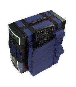 Моддерская сумка   синяя