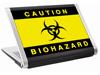 Наклейка на нетбук  -  Biohazard (297х223 мм) глянц.