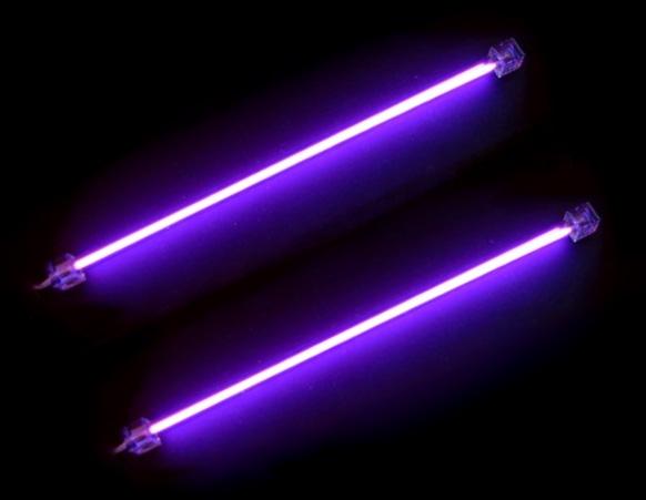 Ультрафиолетовые лампы для компьютера 30 см 2шт  с инвертором Revoltec