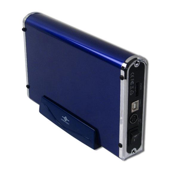 Бокс для HDD 3 5 SATA USB2 0 eSATA Vantec Nexstar3 NST 360SU BL синий