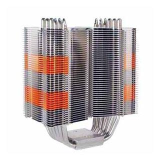Кулер для процессора Intel Prolimatech Super Mega без вентилятора ребра с медью