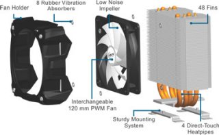 Кулер для процессора AMD Arctic Cooling Freezer A30 AMD CPU Cooler