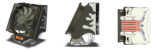 VCT-9000 с крепежом для AMD socket AM3/2