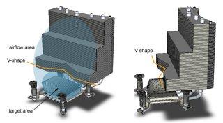 Три конфигурации ребер VCT-9000