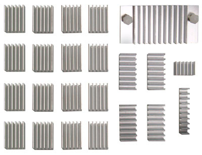 Радиаторы для чипов видеокарты Scythe VGA Chip Heatsinks SCVCH 1000