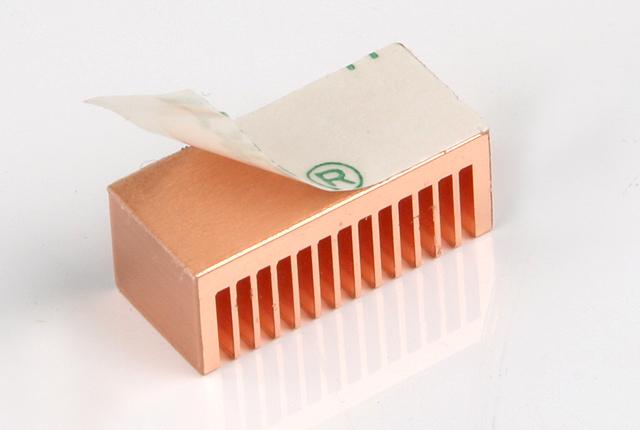 Комплект медных радиаторов для RAM и BGA памяти, термоклей, 8шт. - PCDESIGN