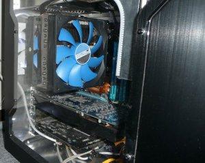 Вентилятор 140 мм с синими лопастями Prolimatech Blue Vortex 14 для ПК