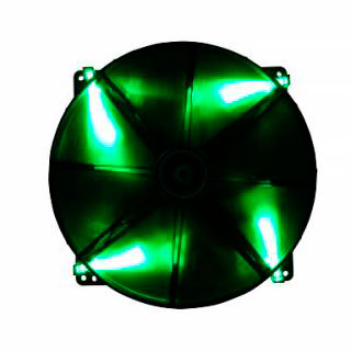 Вентилятор с подсветкой зеленой 200мм BitFenix Spectre LED Green BFFBLF20020GRP