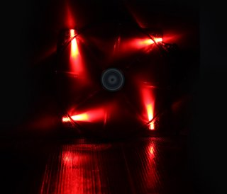 Вентилятор с подсветкой красной 200мм BitFenix Spectre LED Red BFFBLF20020RRP