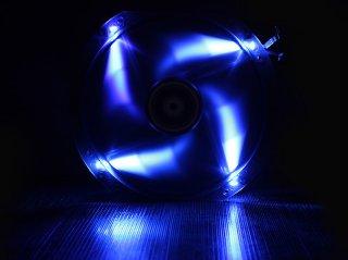 Вентилятор с подсветкой синей 230мм BitFenix Spectre LED Blue BFFBLF23030BRP