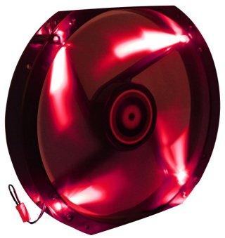 Вентилятор с подсветкой красной 230мм BitFenix Spectre LED Red BFF BLF 23030R RP