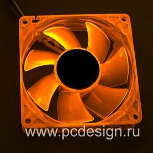 Флуоресцентный вентилятор   оранжевый
