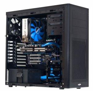 Вентилятор 120 мм с синими лопастями Prolimatech Blue Vortex 12 для ПК