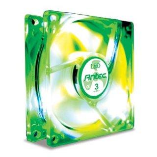 Вентилятор с подсветкой зеленой 120мм Antec TriCool 120 Green LED 3 скорости