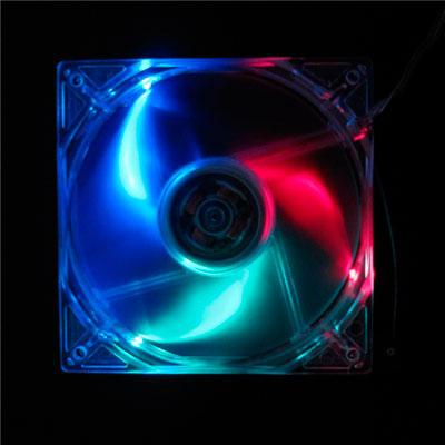 Вентилятор с подсветкой трехцветной 80мм Antec TriCool 80 Trilight LED 3 скорост