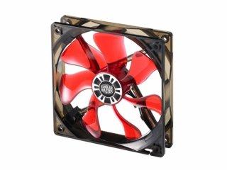 Вентилятор с подсветкой красной 120мм с PWM Cooler Master XtraFlo 120 Red LED