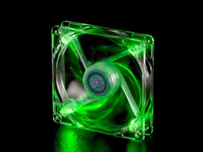 Вентилятор с подсветкой зеленой 120мм CoolerMaster BC120 LED Fan R4 BCBR 12FG R1