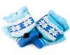 Перчатки с подогревом, USB,  синие Orient UG-011