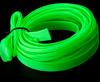 Гибкая оплетка для проводов и кабелей компьютера УФ зеленая кислотная