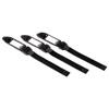 Стяжки для кабеля на липучке с этикеткой, 200 мм, 3 шт., черные., Hama-20634