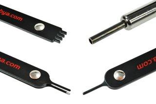 Инструменты для извлечения контактов и разборки разъемов Phobya Molex Extractor