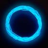 Конструктор Сделай сам неоновый шнур синий диам. 2.2 мм длина 2.5м