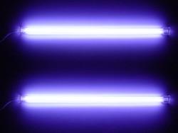 Комплект из 2 х фиолетовых ламп 30 см  с инвертором