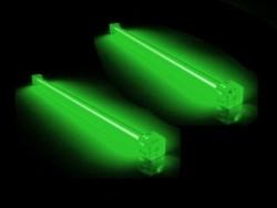 Комплект из 2 х зеленых ламп 30 см  с инвертором