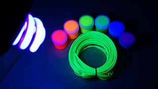 Ультрафиолетовая лампа на 220В Camelion LH 26 FS BLB E27 Blacklight спиральная