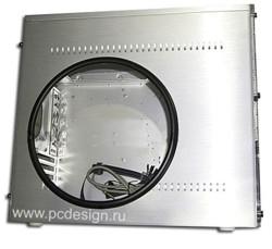 Комплект круглого окна с  резиновым молдингом  285 x 285 мм
