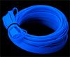 Гибкая оплетка для проводов и кабелей компьютера УФ синяя флуоресцентная