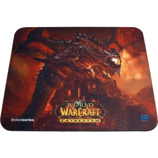 Коврик SteelSeries QcK Limited Edition WoW Cataclysm Deathwing Edition