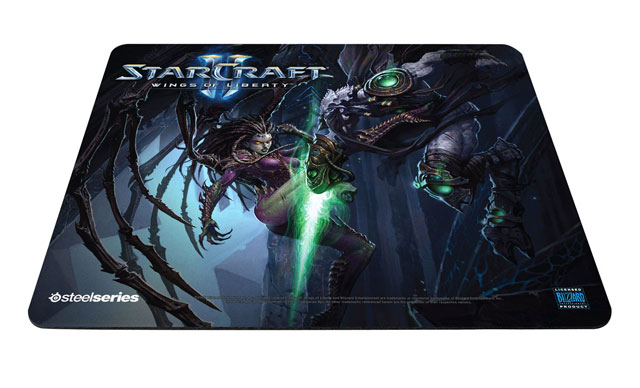 Коврик SteelSeries QcK Limited Edition StarCraft II Wings of Liberty: Kerrigan vs. Zeratul