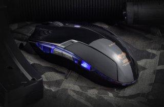 Игровая мышь с подсветкой E Blue Cobra EMS108BK черная