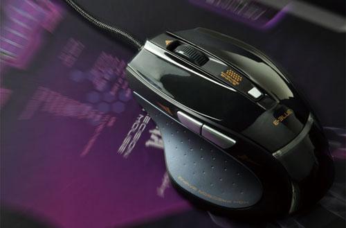 Игровая мышь E Blue Cobra Lighting Ash EMS112BK черная для правшей