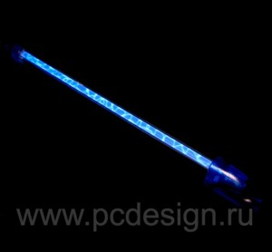 Лампа синяя  плазменная  длина 31 см