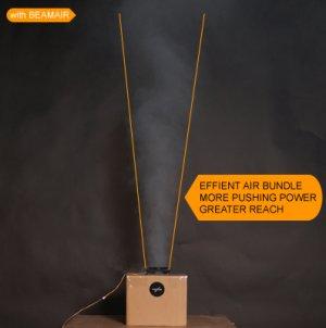 Поток вентилятора с BeamAir