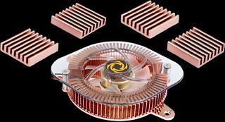 Набор Revoltec VGA CHIPSET Cooler зол  для охл  GPU и чипов видеопам  GF4Ti и FX