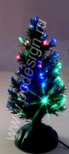 USB Ёлочка зеленая 25 см с оптоволоконной подсветкой Orient 337