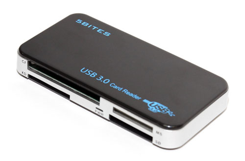 Картридер USB 3 0 внешний 5bites CK00180A 6 слотов карт и USB3 0 черный