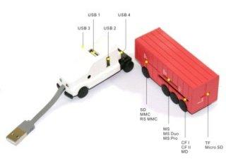 USB Хаб картридер Грузовик Orient TR-575 схема