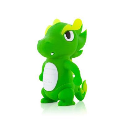 Флешка дракон зеленый  8 ГБ Bone Dragon Driver USB