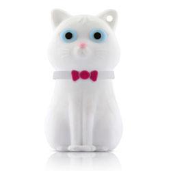 Флешка Кошка белая Bone Cat Driver 8GB DR10091 8W