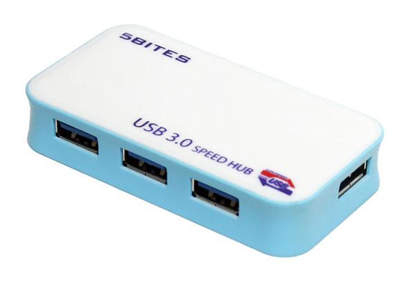 USB 3 0 разветвитель на 4 порта 5bites CK00171A с внешним питанием