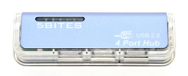 USB концентратор на 4 порта USB2 0 5bites CK0029A BL синий