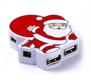 USB новогодний хаб Дед Мороз