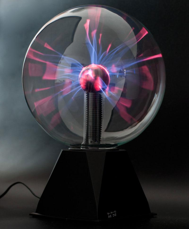 Светильник плазменный шар фото 478-194